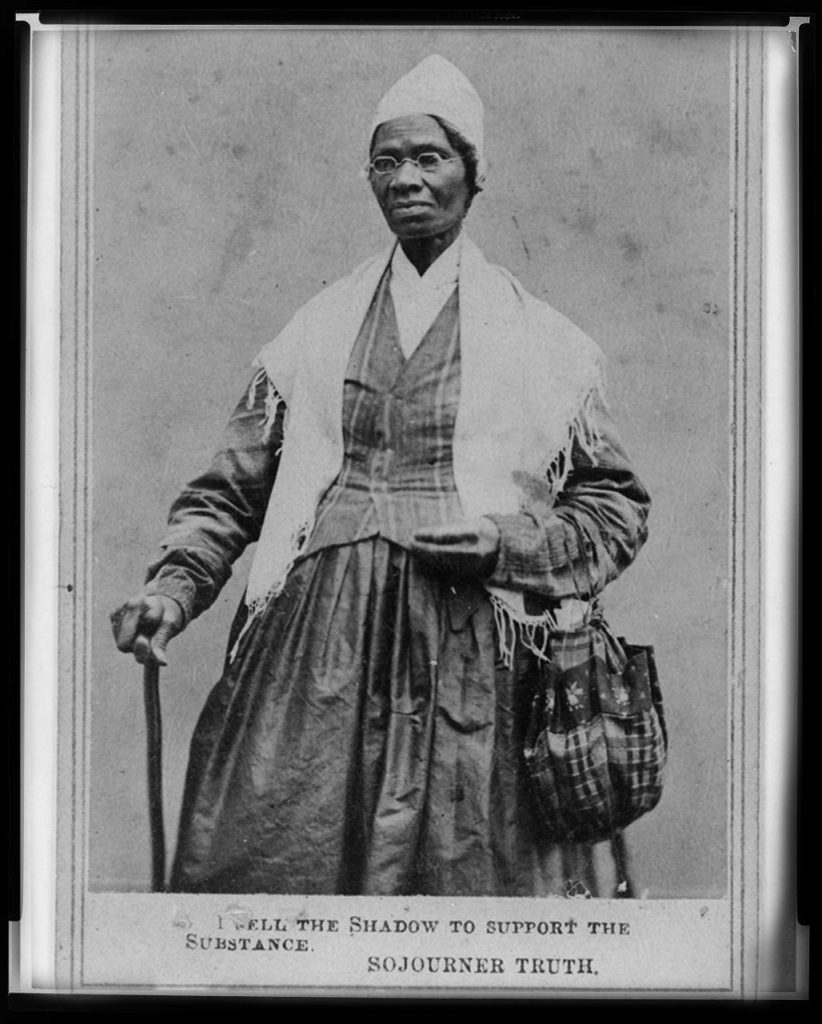 Sojourner Truth, women's suffragette