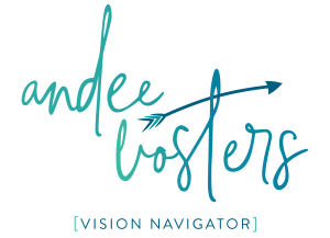 Andee Vosters — Vision Navigator Logo