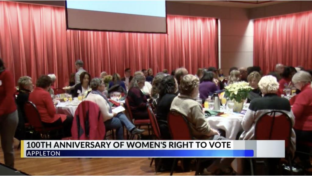 WFRV - 19th Amendment Kickoff Brunch event