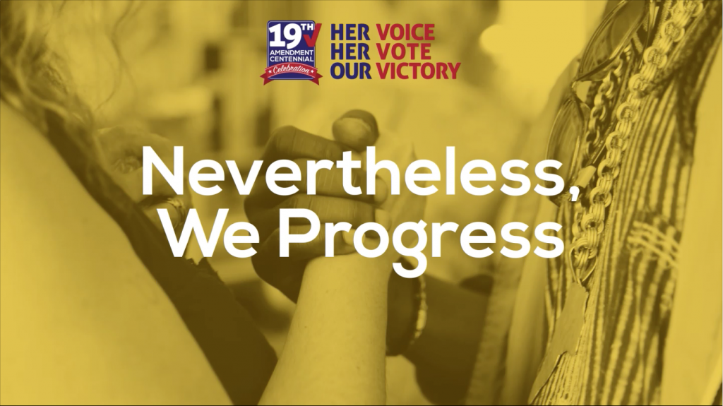 Nevertheless, We Progress
