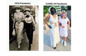1919 Pandemic vs COVID-19 Pandemic